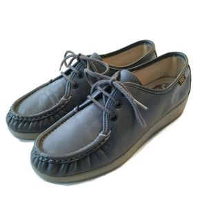 SAS Shoes Oxford Siesta Pewter Gray 6.5 M Lace up